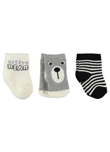 Civil Baby 3'lü Çorap Siyah